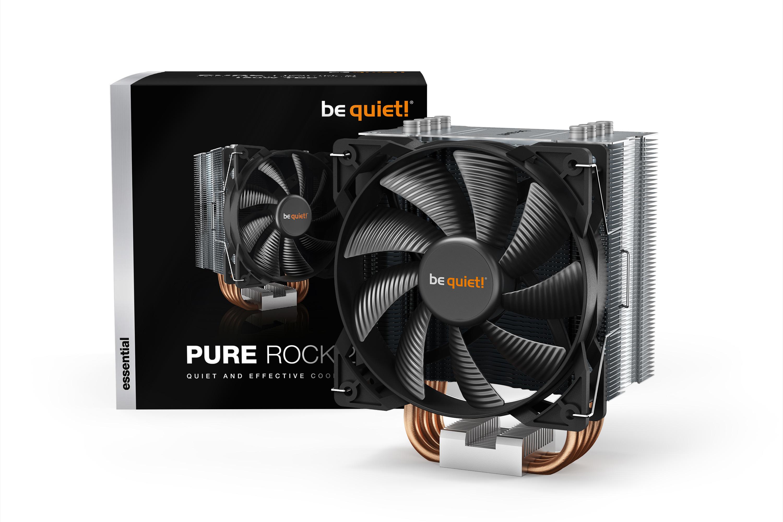 Be Quiet! Pure Rock 2 - Prozessor - Kühlset - 12 cm - LGA 1150 (Socket H3),LGA 1151 (Socket H4),LGA 1155 (Socket H2),LGA 1200,LGA 2011-v3 (Socket R),LGA... - 1500 RPM - 19,1 dB
