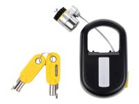 MicroSaver®-Notebookschloss mit Schlüssel - einziehbar