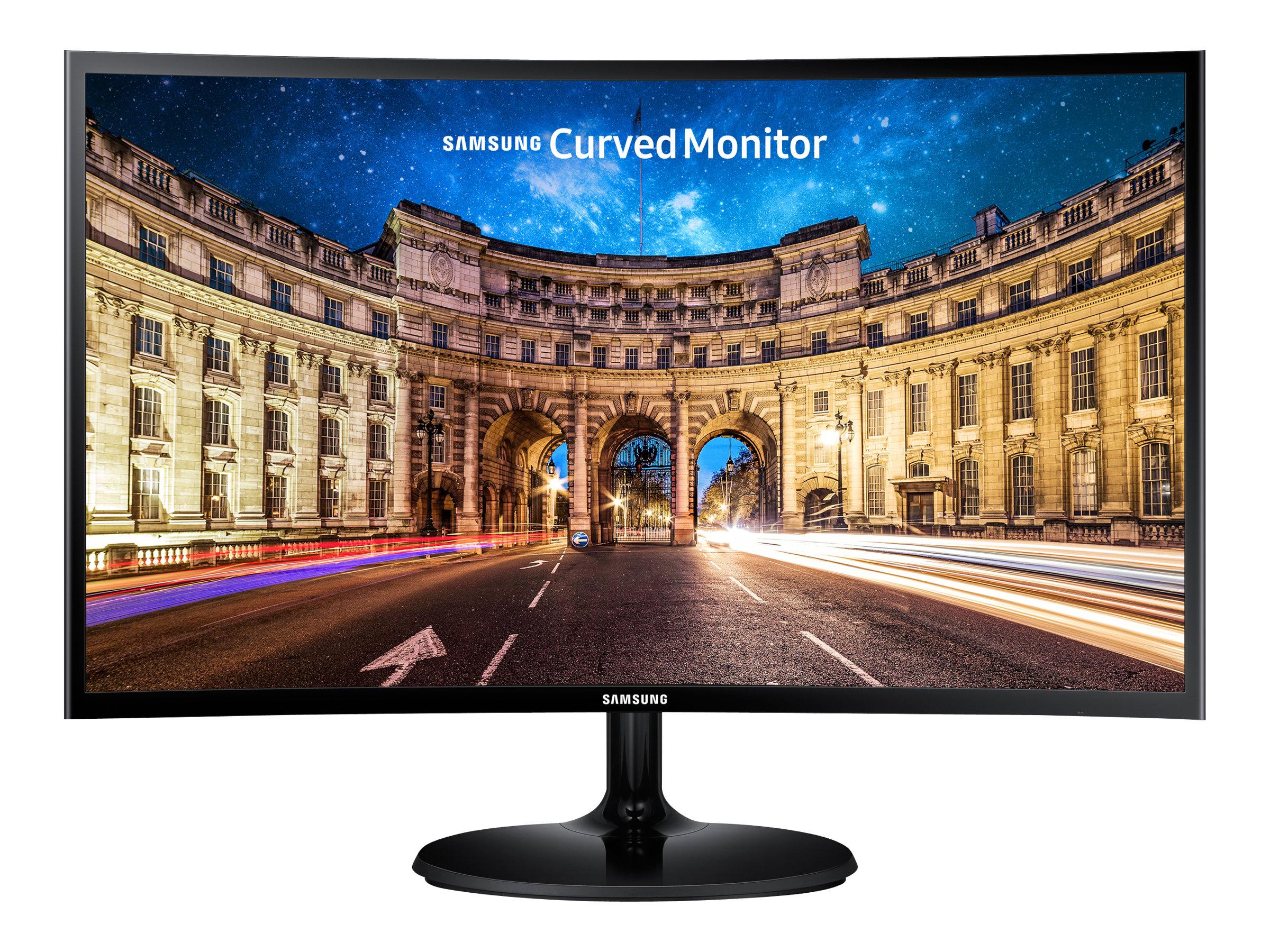 "Vorschau: Samsung C24F390FHU - CF390 Series - LED-Monitor - gebogen - 59.8 cm (23.5"")"