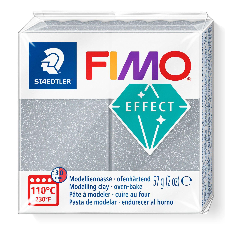 Vorschau: STAEDTLER FIMO 8020 - Knetmasse - Silber - Erwachsene - 1 Stück(e) - Metallic silver - 1 Farben