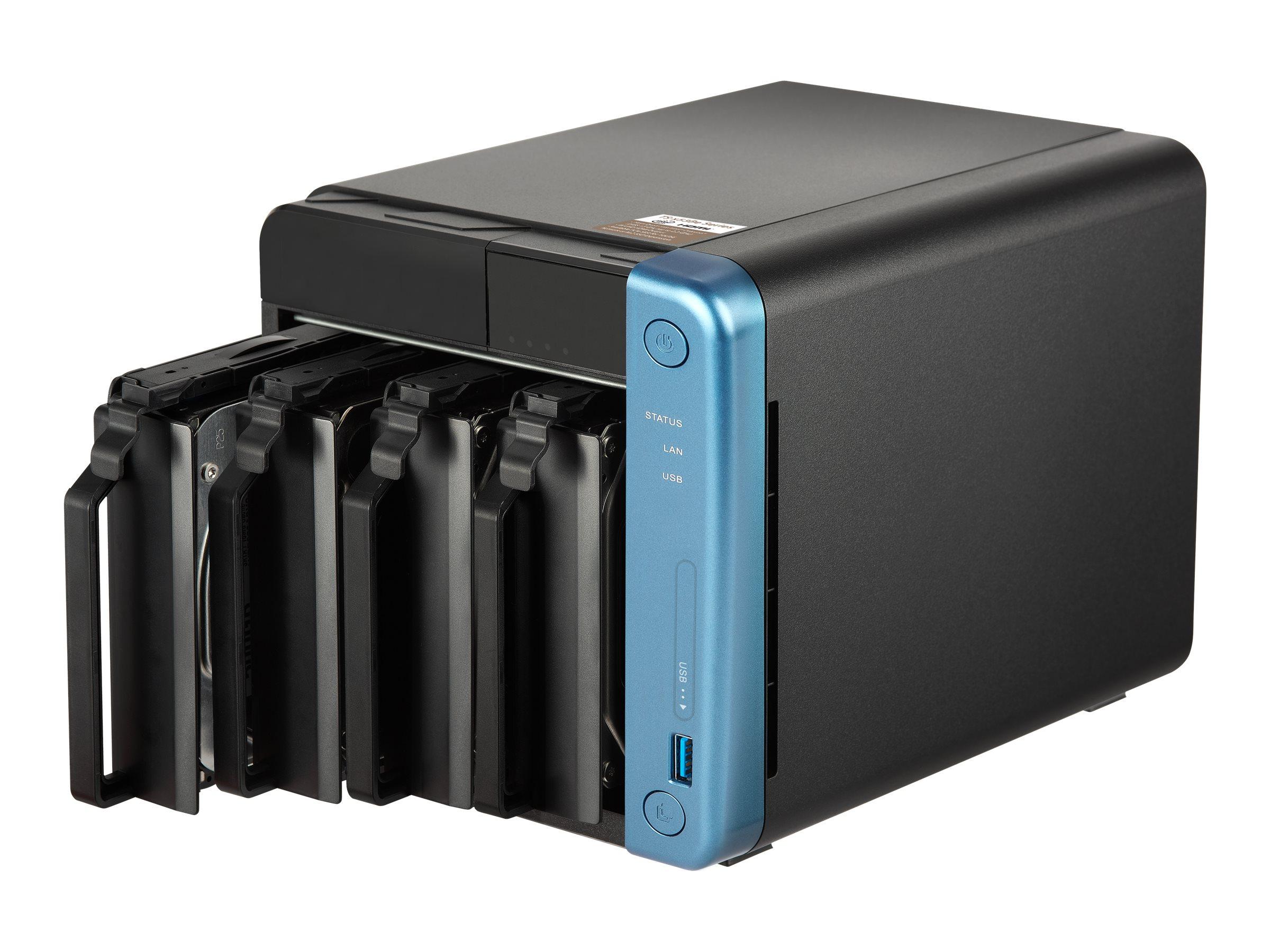 QNAP TS-453Be-2G - NAS-Server - 4 Schächte - SATA 6Gb/s