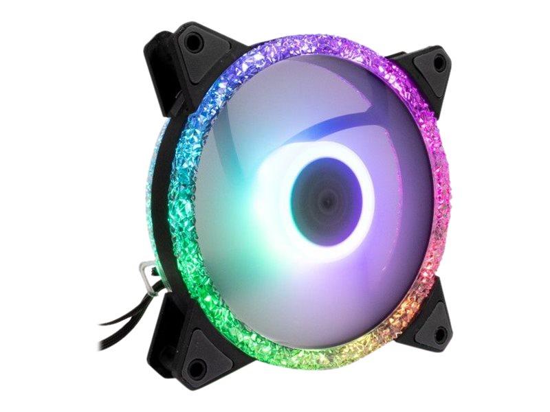 Inter-Tech Argus RS-071 RGB - Gehäuselüfter - 120 mm
