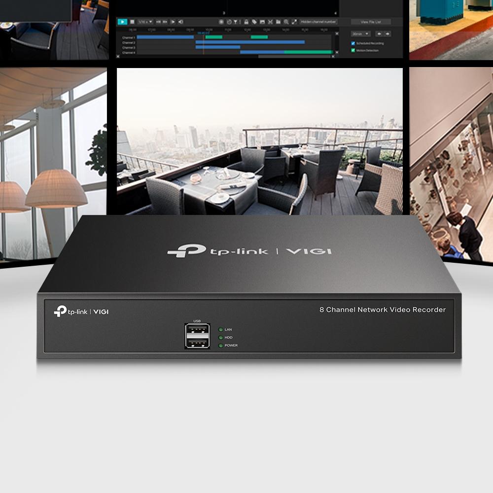 TP-LINK VIGI NVR1008H - NVR - 8 Kanäle - netzwerkfähig
