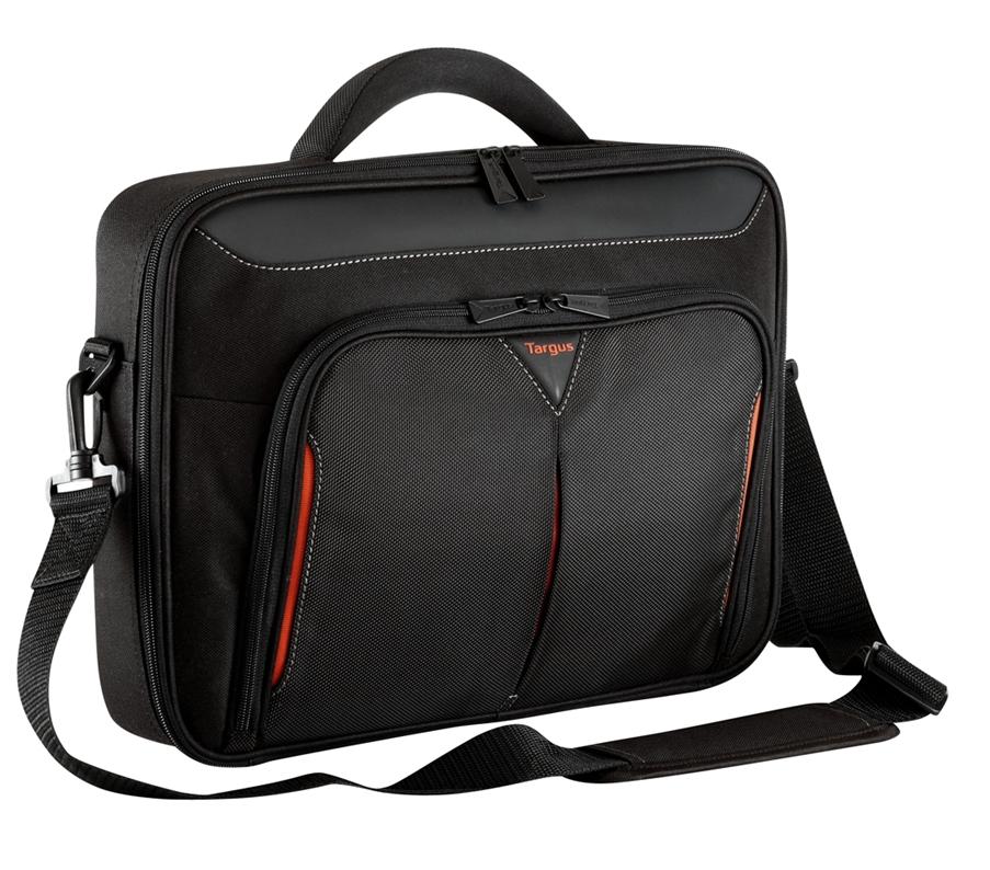 Targus Classic+ Bæretaske  18' Polyester Sort Rød