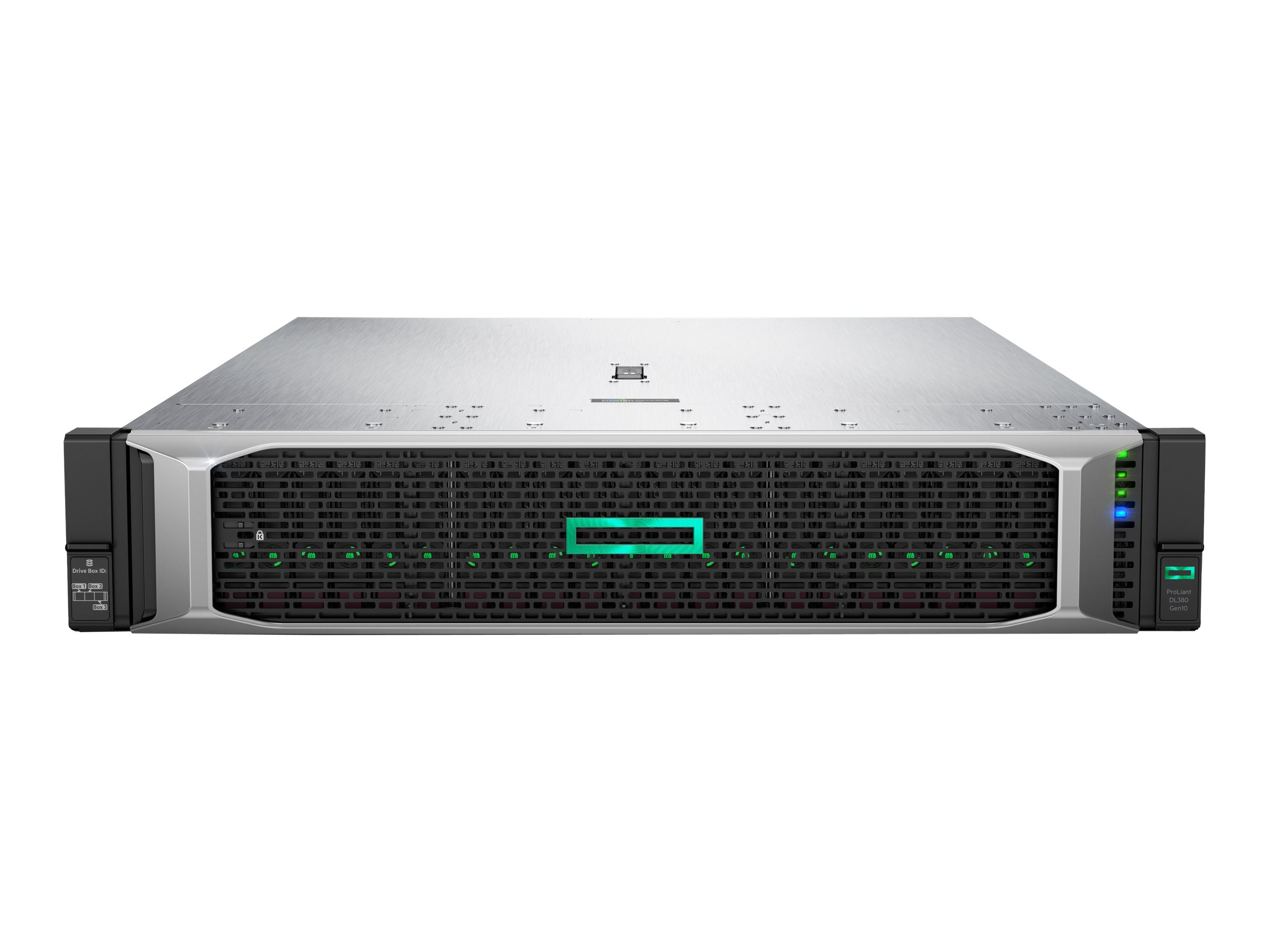 "Vorschau: HP Enterprise ProLiant DL380 Gen10 - Server - Rack-Montage - 2U - zweiweg - 1 x Xeon Gold 5222 / 3.8 GHz - RAM 32 GB - SAS - Hot-Swap 6.4 cm (2.5"")"