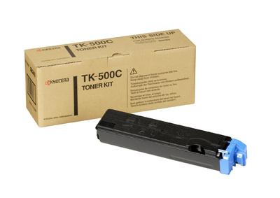 Kyocera TK 500C - Cyan - Tonersatz