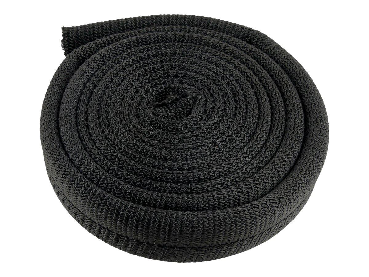 Label-the-cable LTC PRO CABLE TUBE - Kabelschlauch - 25 m - Schwarz