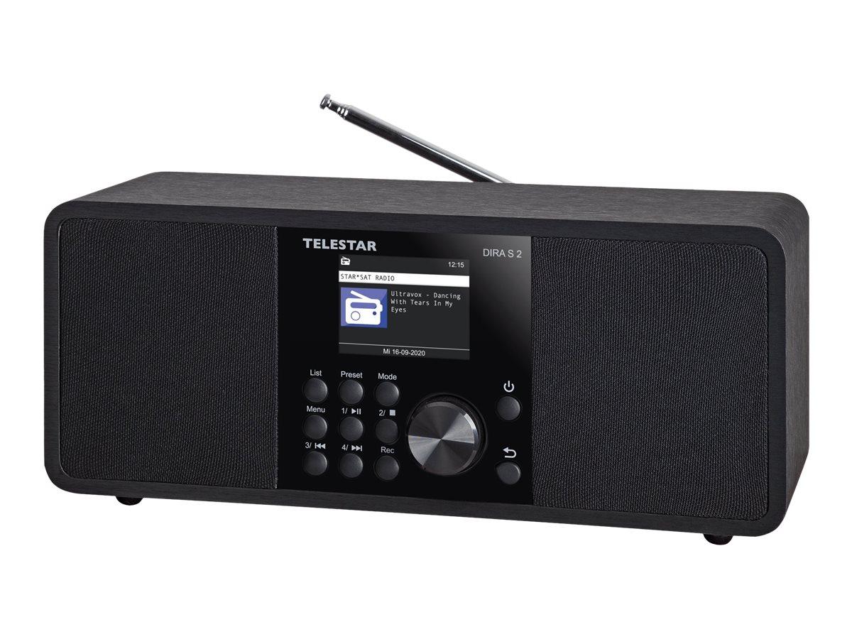 Telestar DIRA S 2 - Netzwerk-Audioplayer / DAB-Radiotuner - 20 Watt (Gesamt)