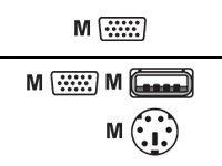 LevelOne ACC-2103 - Tastatur- / Video- / Maus- (KVM-)