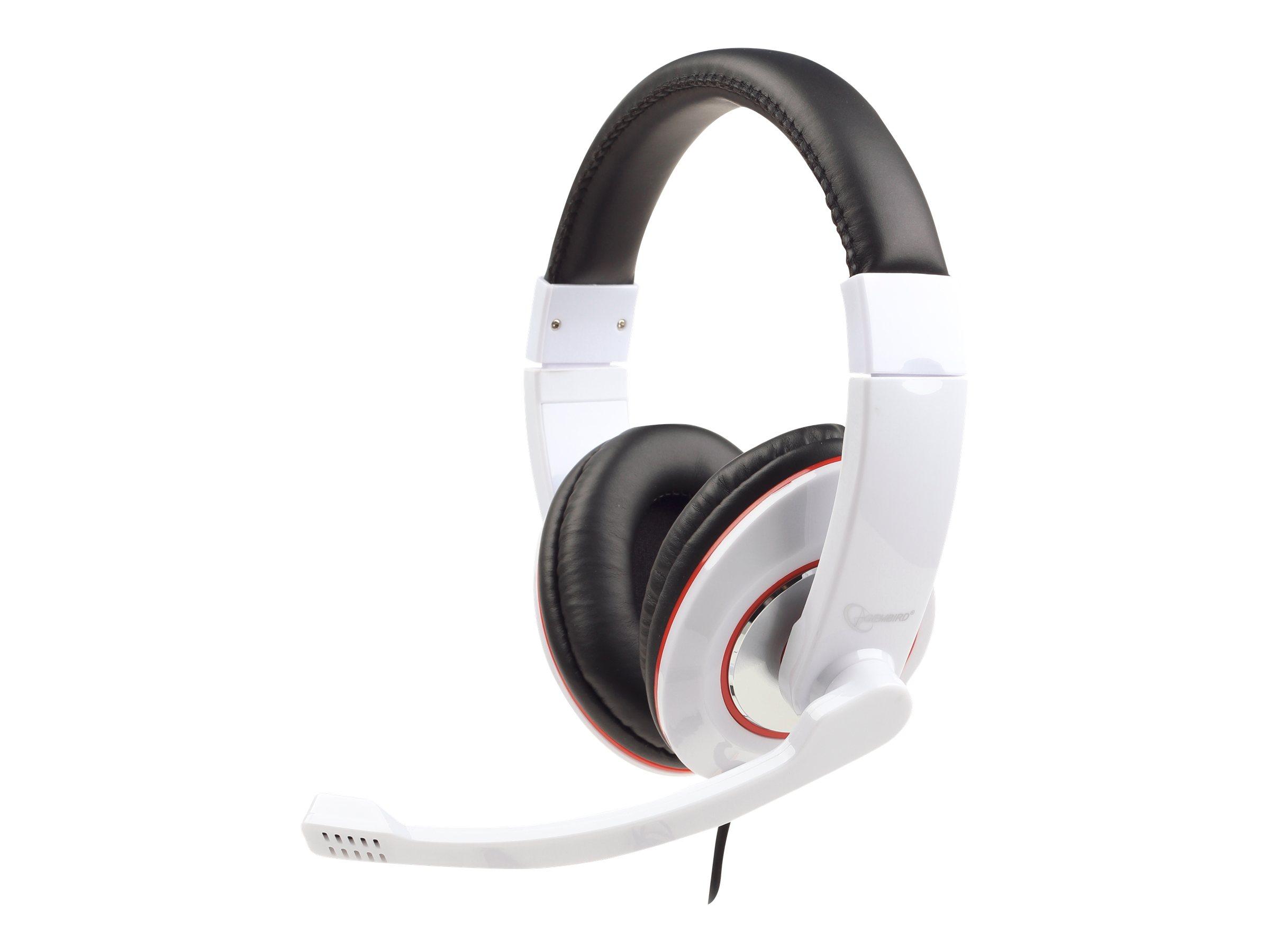 Gembird MHS-001-GW - Headset - ohrumschließend