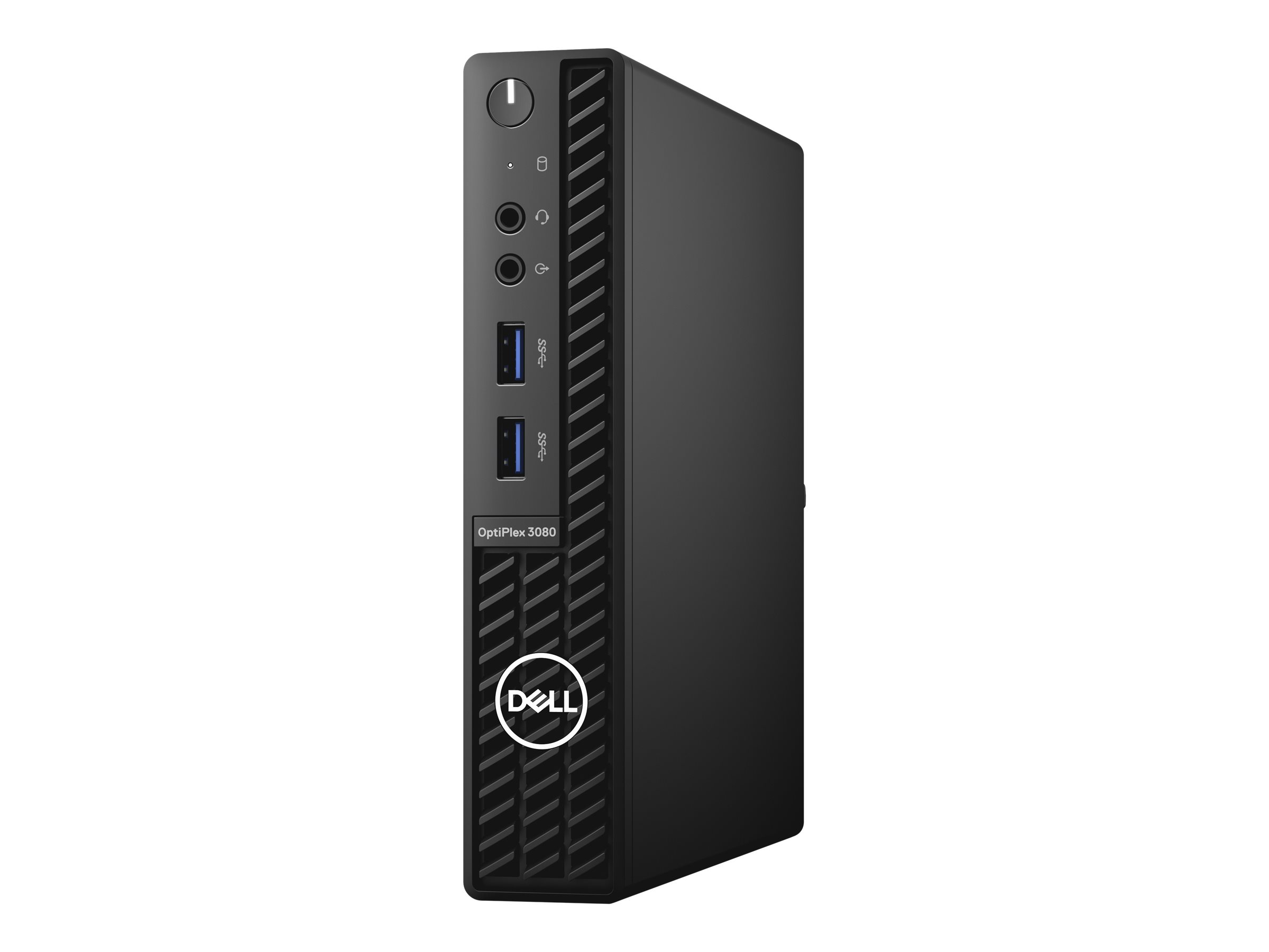 Dell OptiPlex 3080 - Micro - Core i5 10500T / 2.3 GHz - RAM 8 GB - SSD 256 GB - UHD Graphics 630 - GigE - WLAN: Bluetooth, 802.11a/b/g/n/ac - Win 10 Pro 64-Bit - Monitor: keiner - BTS - mit 1 Year Basic Onsite (CH, AT, DE - 3 Years)