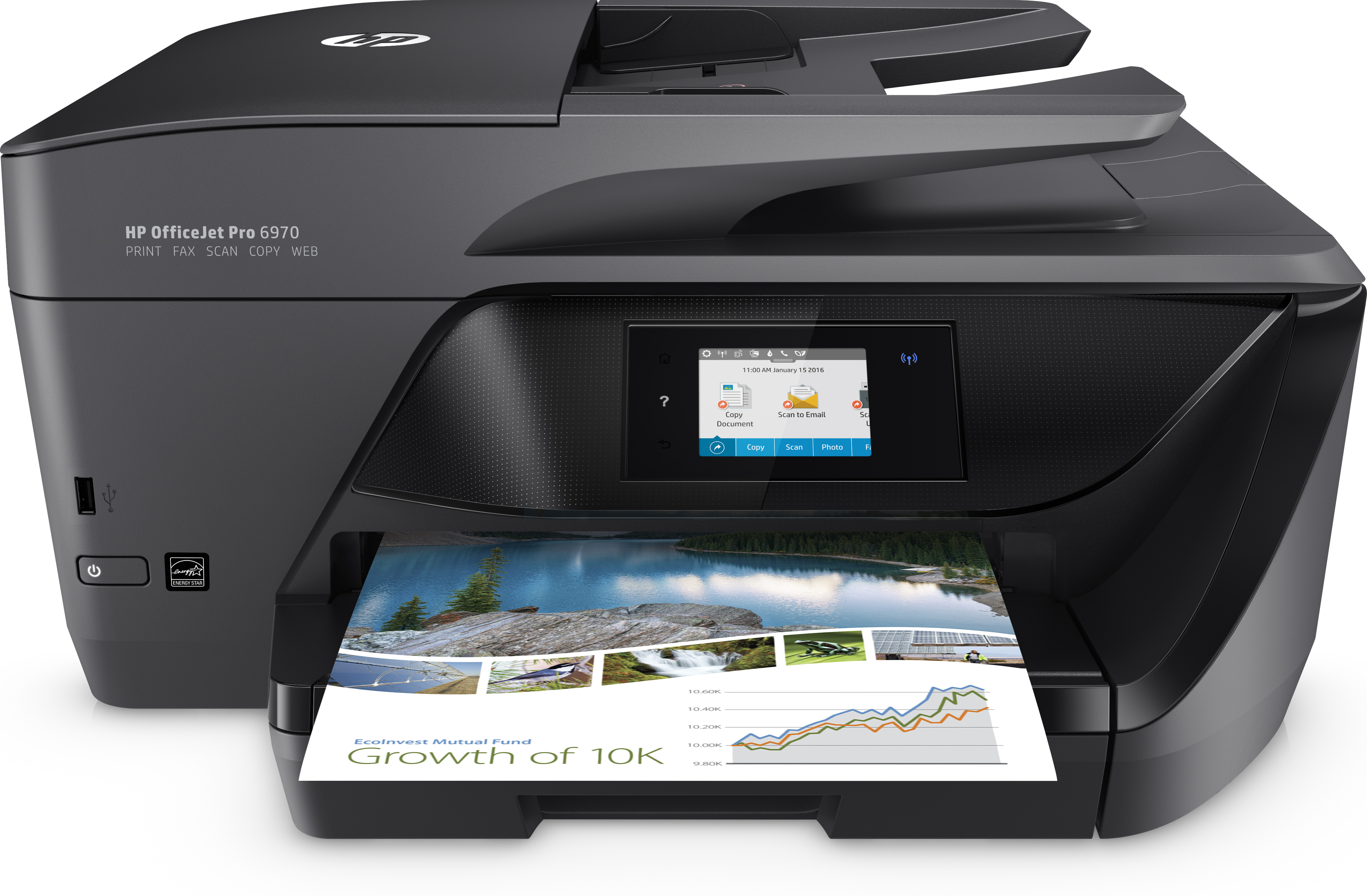 HP OfficeJet Pro 6970 e-All-in-One, Tinte, MFP, A4