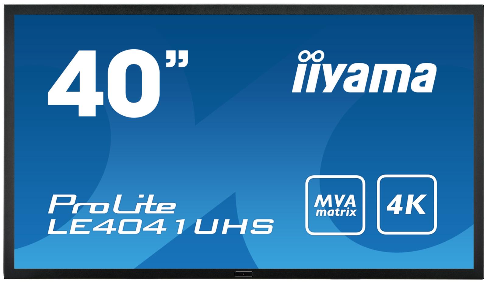 Iiyama ProLite LE4041UHS-B1 - 102 cm (40) Klasse (100.3 cm (39.5) sichtbar) LED-Display - Digital Signage