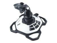 Extreme 3D Pro Joystick PC Schwarz - Weiß