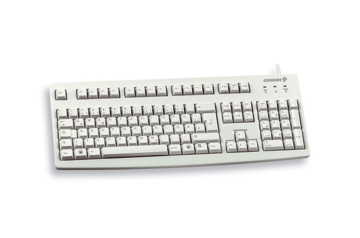 Cherry Classic Line G83-6105 - Tastatur - 105 Tasten QWERTZ - Grau