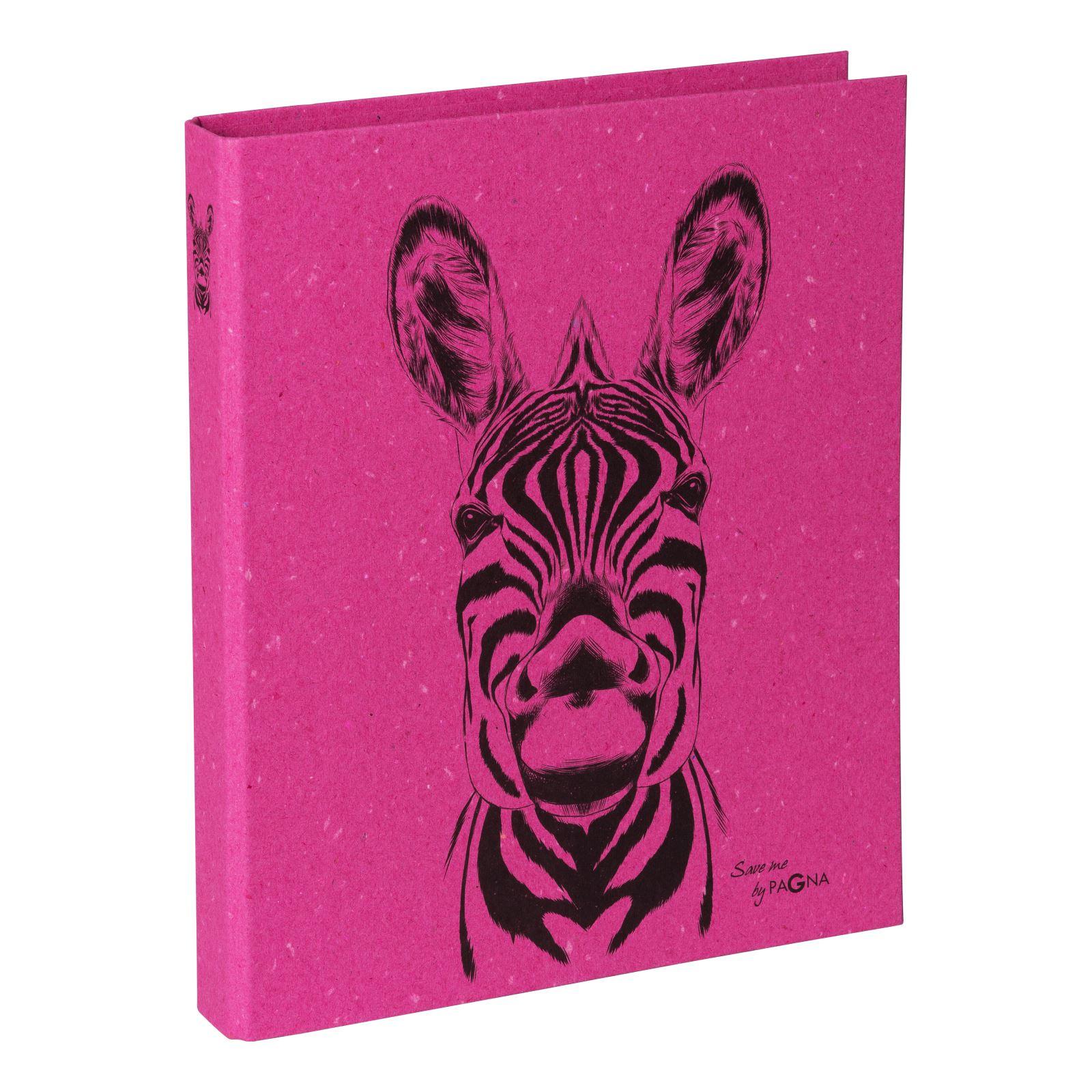 Pagna 20770-34 - Ringbuch - Ordner - DIN A4- Zebra Motiv