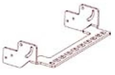 HONEYWELL Compact Keyboard Mounting Bracket - Tastaturmontage-Kit