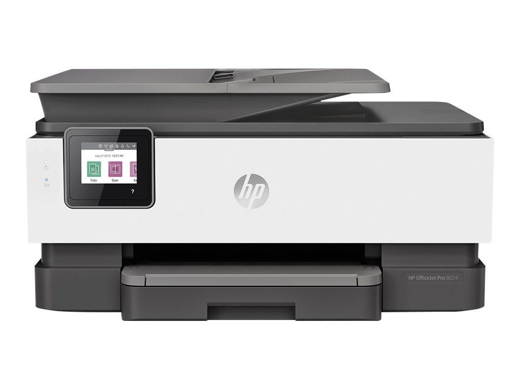 HP Officejet Pro 8024 All-in-One - Multifunktionsdrucker - Farbe - Tintenstrahl - 216 x 297 mm (Original)