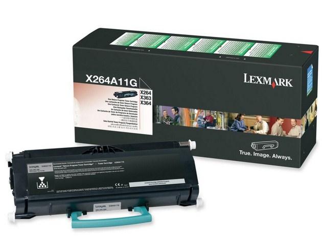 Lexmark X264A11G Laser cartridge 3500Seiten Schwarz Lasertoner / Patrone