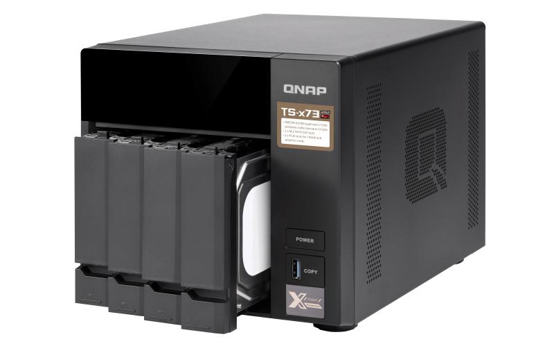 QNAP NAS TS-473-8G 8GB 4-Bay 4x 3TB HDD SEAGATE IRONWOLF