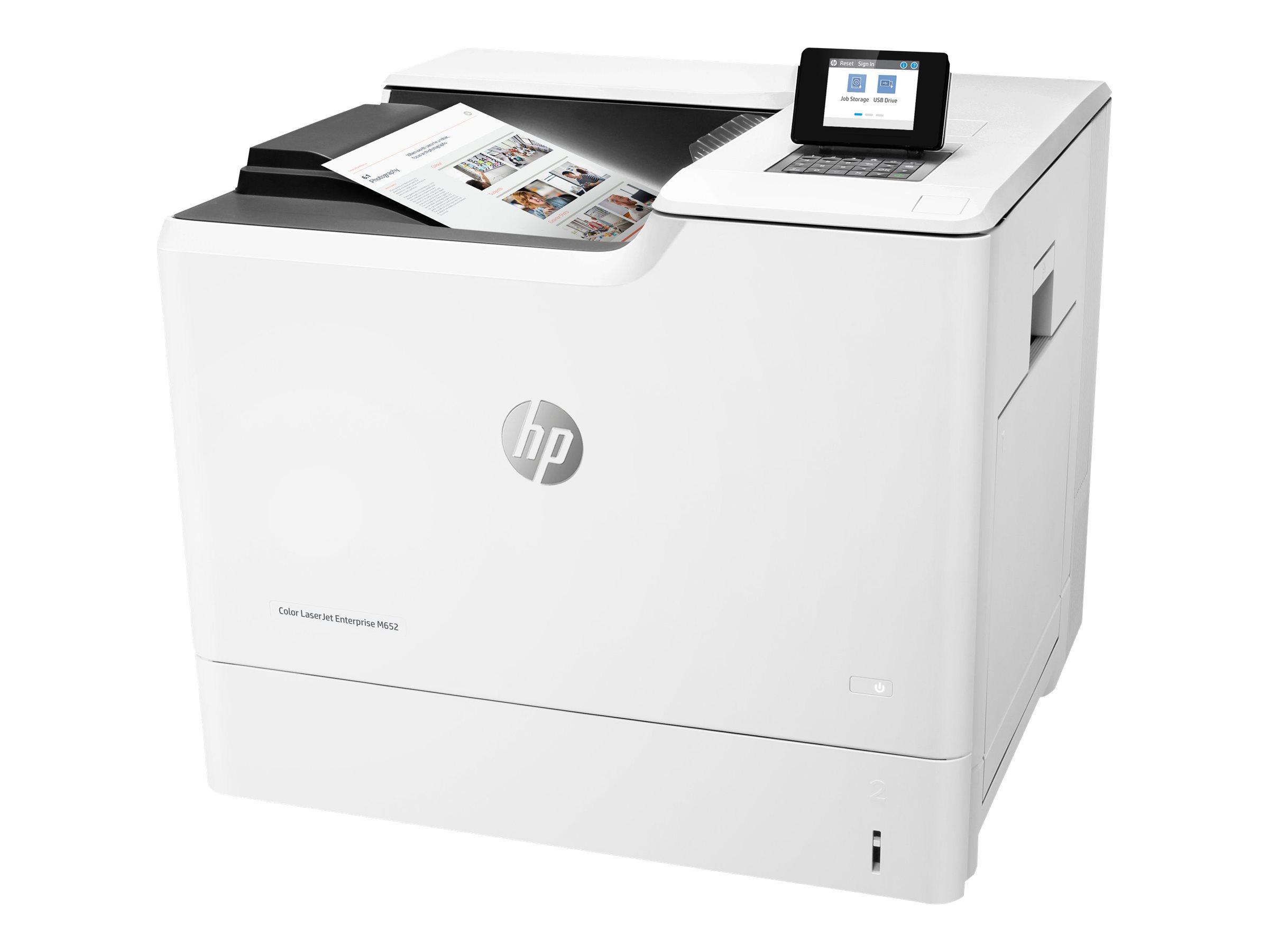 HP Color LaserJet Enterprise M652n - Drucker - Farbe - Laser - A4/Legal - 1200 x 1200 dpi - bis zu 47 Seiten/Min. (einfarbig)/