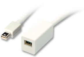 Lindy DisplayPort-Verlängerungskabel - Mini-DisplayPort (M) - Mini-DisplayPort (W)