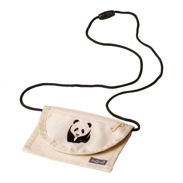 Vorschau: Pagna Save me Panda - Beuteltasche - Universal - Beige - Schwarz