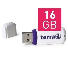 Wortmann TERRA USThree - USB-Flash-Laufwerk - 16 GB