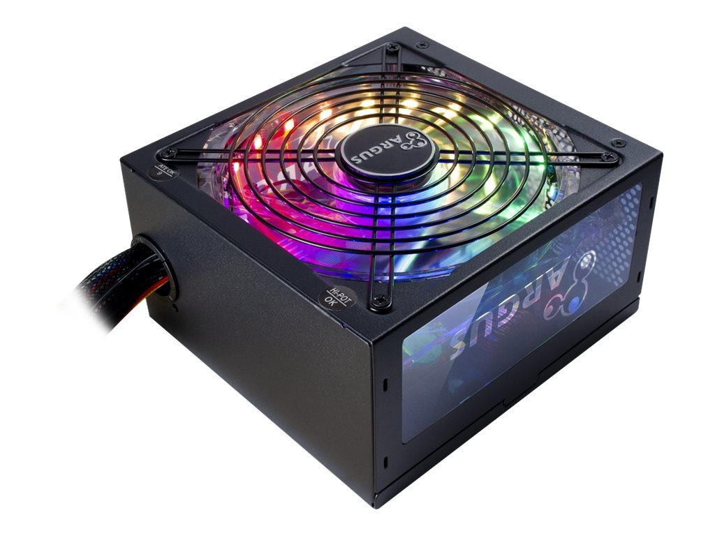 Vorschau: Inter-Tech Argus RGB-600W II - Netzteil (intern) - ATX12V 2.3