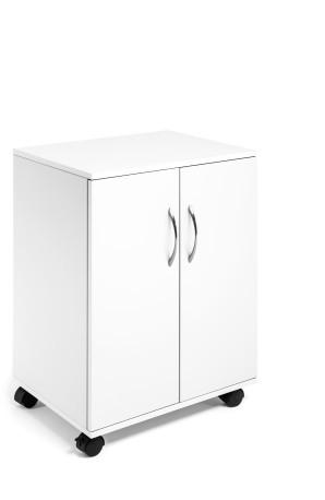 Durable 311502 - Weiß - 2 Tür(en) - Drehtür - 2 Regale - 1,6 cm - 528 mm