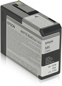 Epson T5808 - Druckerpatrone - 1 x mattschwarz