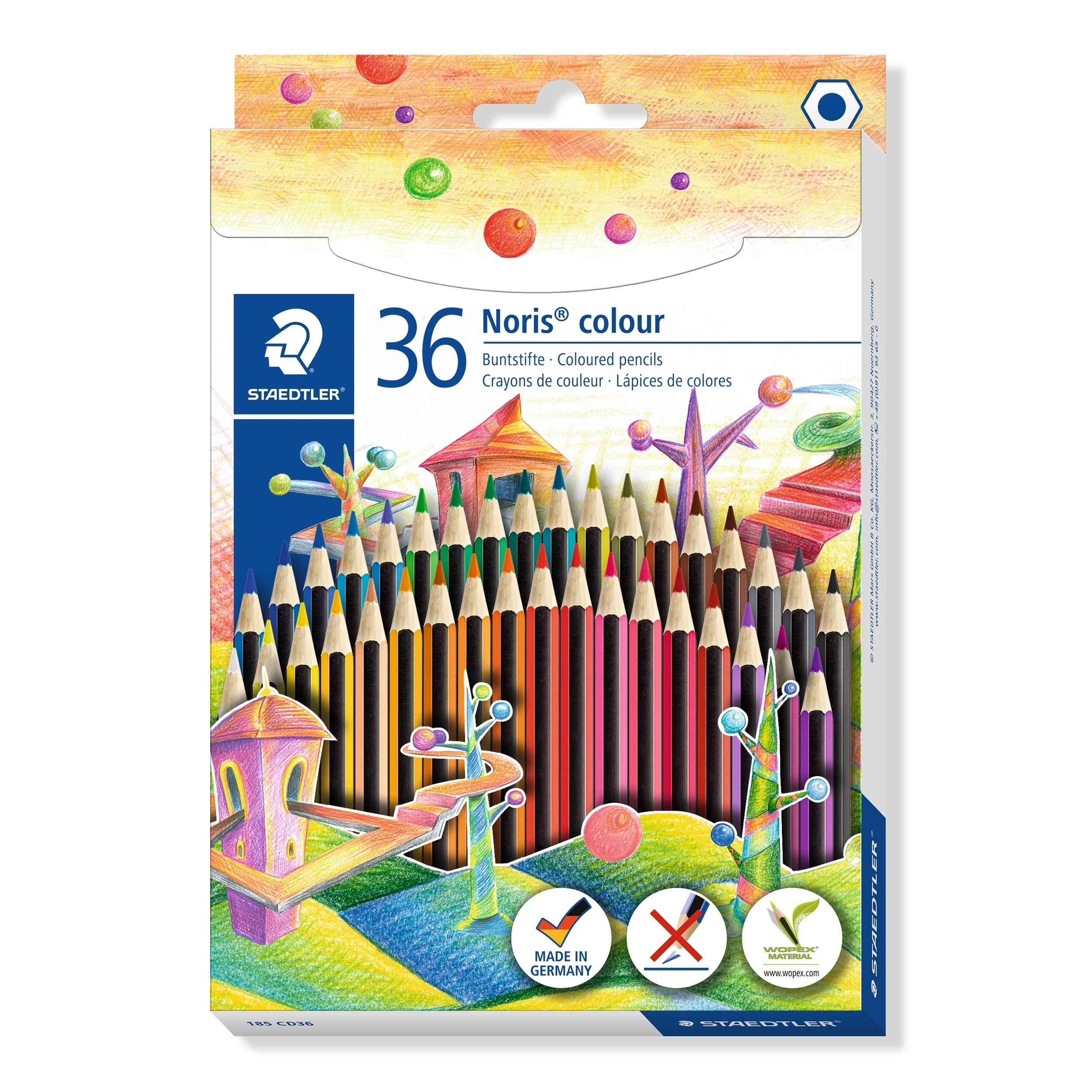 STAEDTLER Farbstift Noris Color 36er Kartonetui - Mehrfarben - 36 Stück(e)
