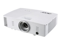 Basic X1385WH Desktop-Projektor 3400ANSI Lumen DLP WXGA (1280x800) 3D Weiß Beamer