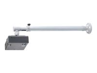 Beamer-Wandhalterung - Wand - 12 kg - Silber - 360° - 0 - 90° - 73 cm