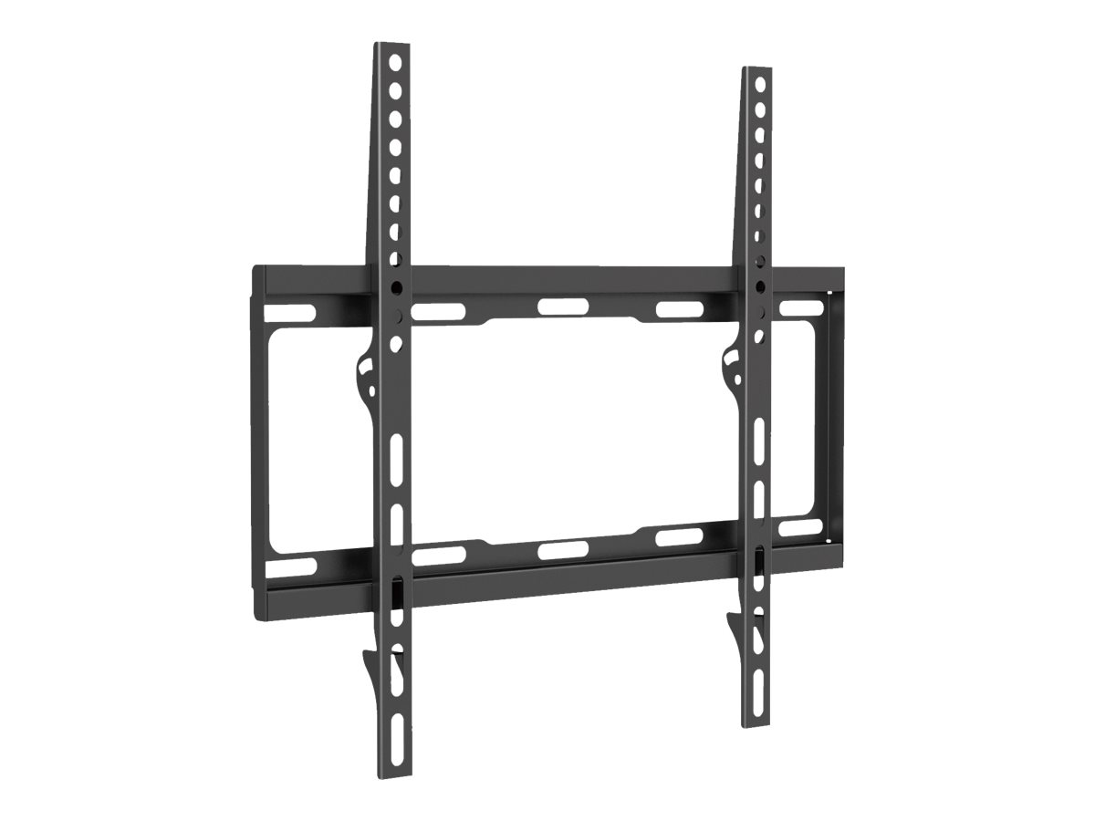"""equip Befestigungskit (Wandmontagehalterung) für Flachbildschirm - kaltgewalzter Stahl - Schwarz - Bildschirmgröße: 81-140 cm (32""""-55"""")"""