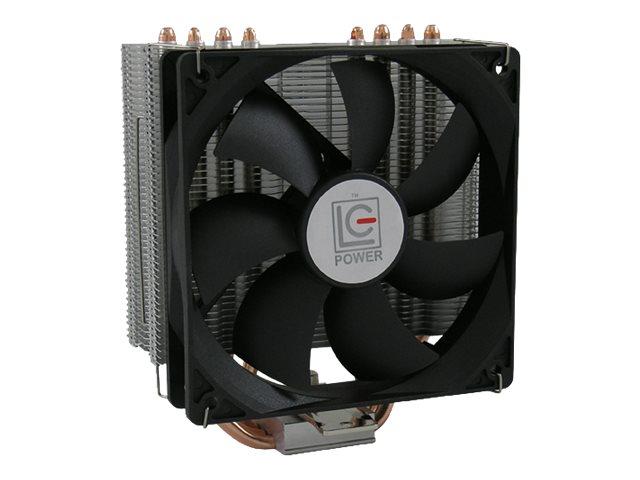 LC Power Cosmo Cool - Prozessor-Luftkühler - (für: LGA775, LGA1156, AM2, AM2+, LGA1366, AM3, LGA1155, AM3+, LGA2011, FM1, FM2, LGA1150, LGA2011-3, LGA1151)