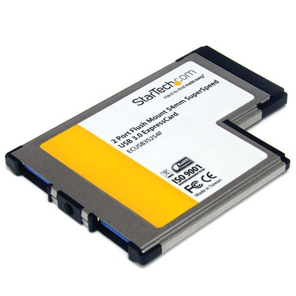 StarTech.com 2 Port USB 3.0 ExpressCard 54mm mit UASP Unterstützung