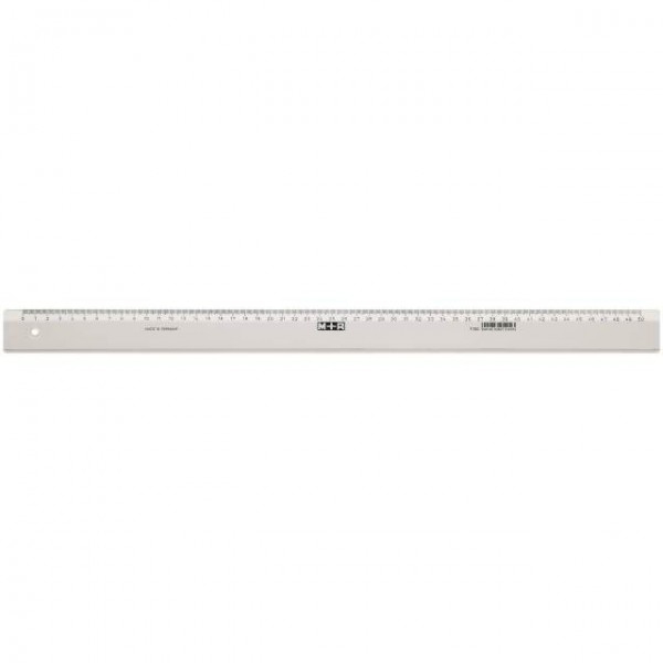 Möbius   Ruppert 1150 - 0000 - Schreibtisch-Lineal - Polystyrene - Transparent - cm - Deutschland - 50 cm