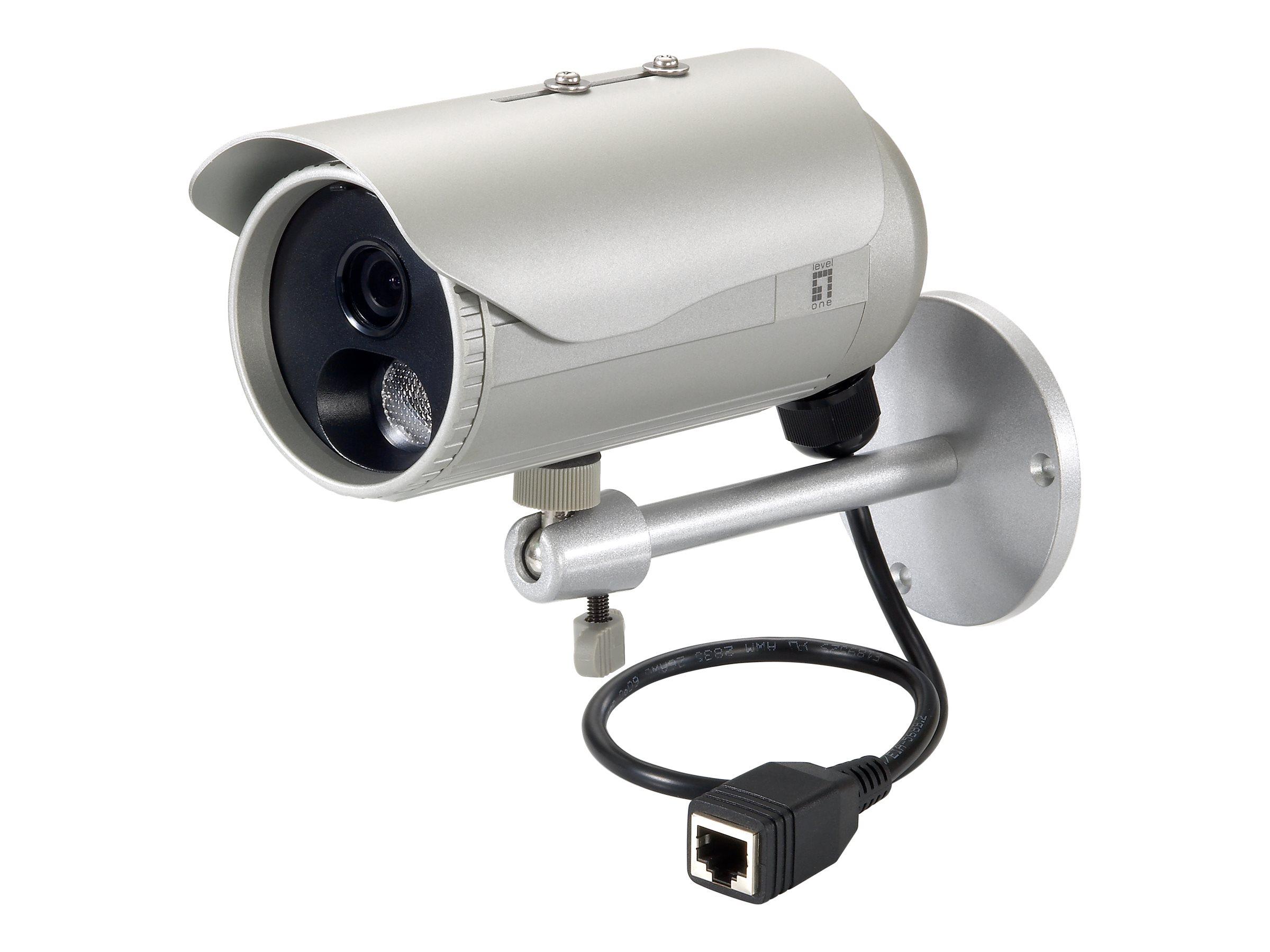 LevelOne FCS-5053 - Netzwerk-Überwachungskamera - Außenbereich - wetterfest - Farbe (Tag&Nacht)