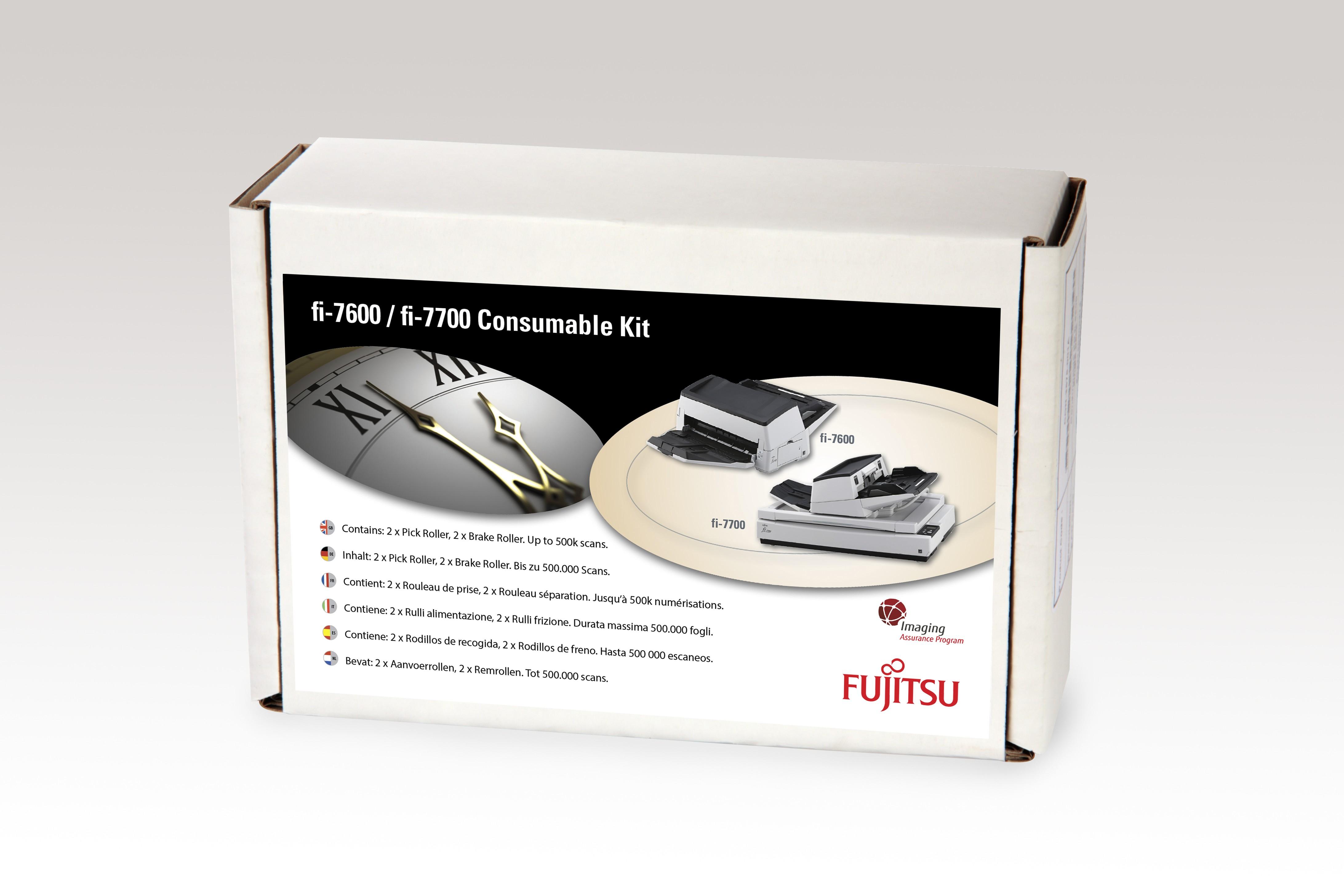 CON-3740-002A Scanner Verbrauchsmaterialienset Drucker-/Scanner-Ersatzteile