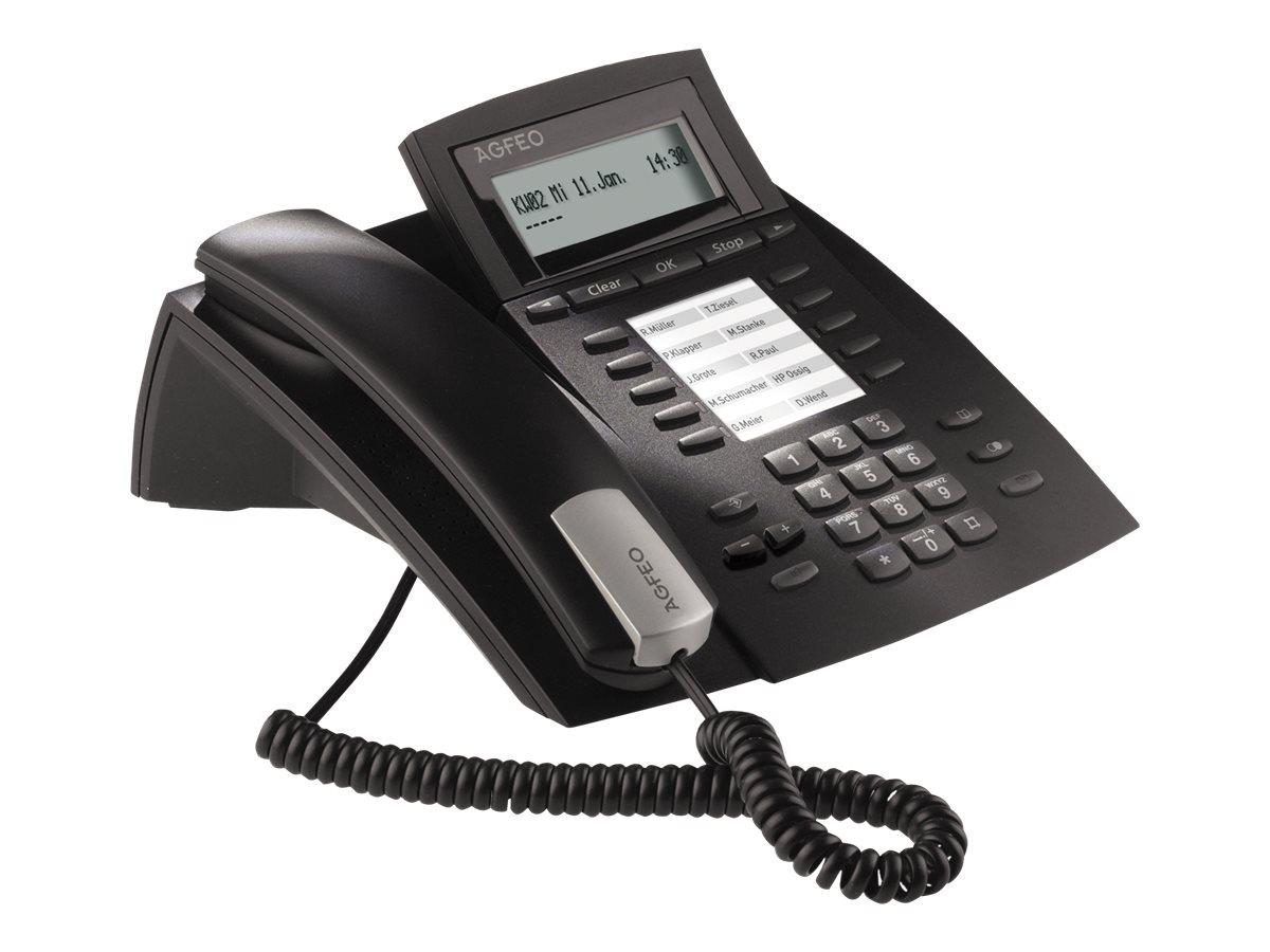 AGFEO ST 22 IP - VoIP-Telefon - Schwarz