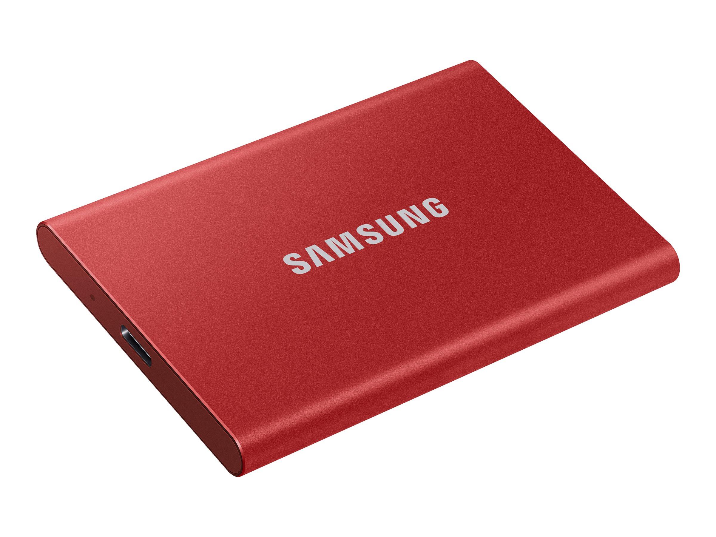 Samsung Portable SSD T7 MU-PC500R - 500 GB SSD - extern (tragbar)