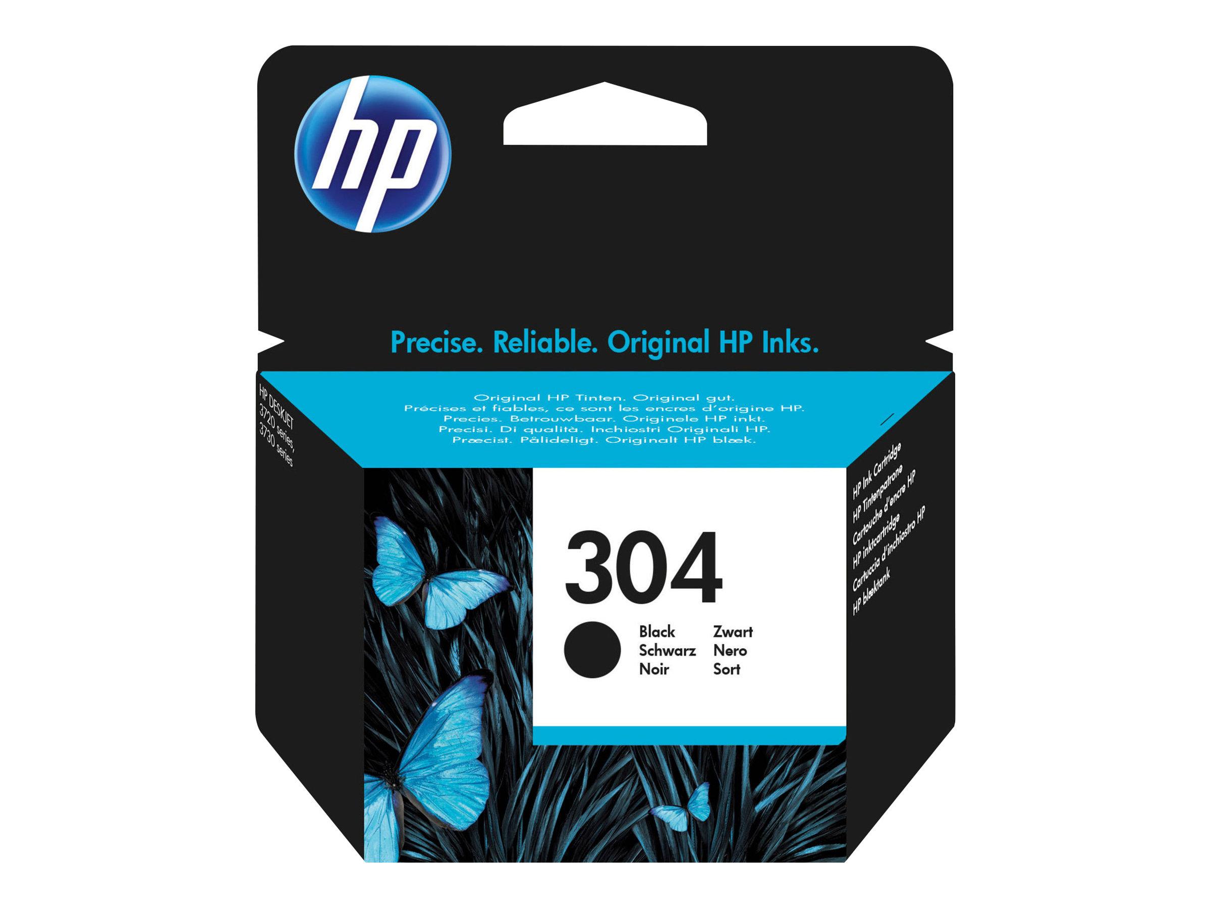 HP 304 - Schwarz - Original - Tintenpatrone - für AMP 130