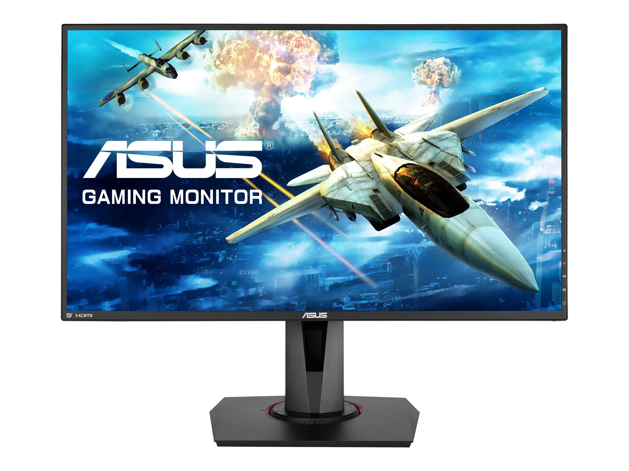 "ASUS VG278Q - LCD-Monitor - 68.6 cm (27"") - 1920 x 1080 Full HD (1080p) TN - 400 cd/m² - 1000:1 - 1 ms - HDMI - DVI-D - DP - Lautsprecher - Schwarz"