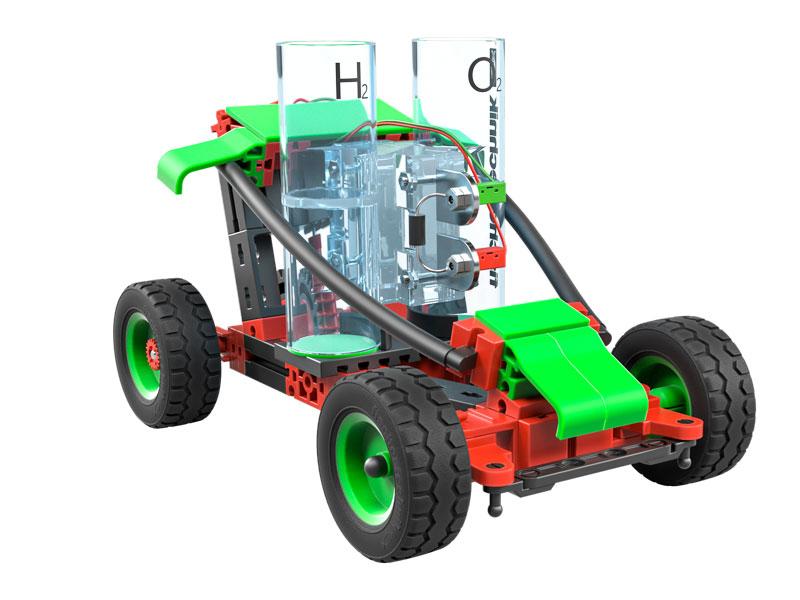 fischertechnik H2 Fuel Cell Car - Bausatz - Junge - 117 Stück(e)