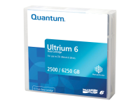 LTO Ultrium 6 - 2.5 TB / 6.25 TB - Schwarz
