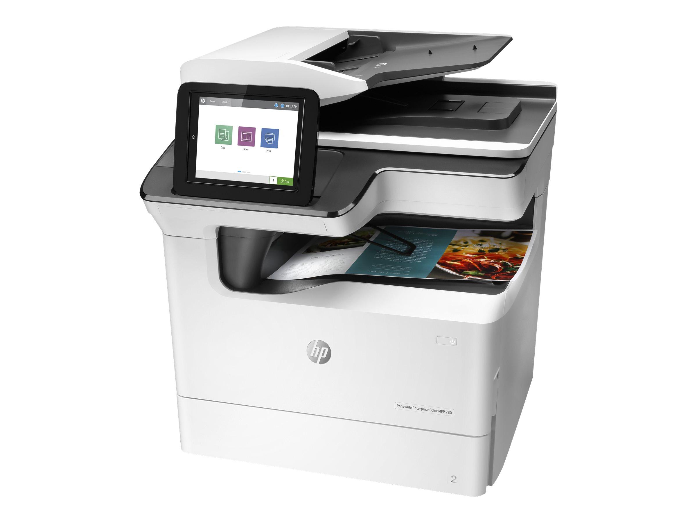 HP PageWide Enterprise Color MFP 780dn - Multifunktionsdrucker - Farbe - seitenbreite Palette - 297 x 432 mm (Original)