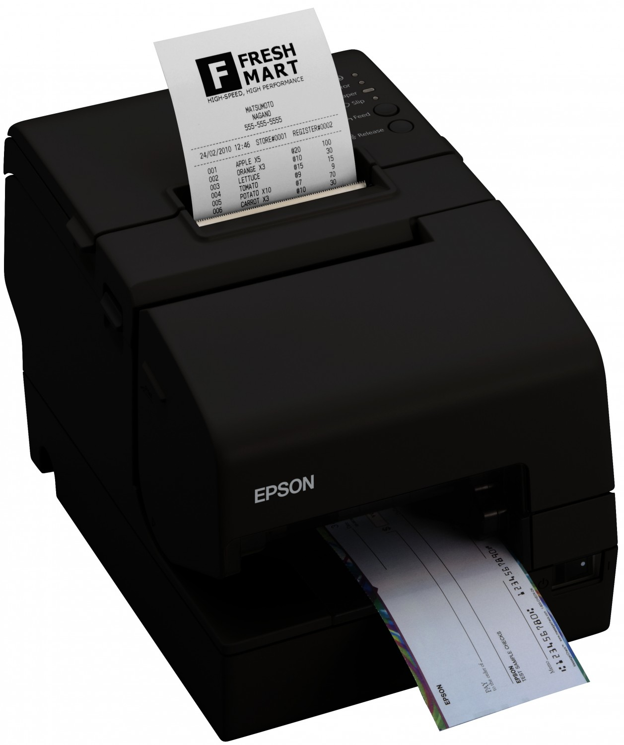 Epson TM-H6000IV Series Thermodruck POS printer 180 x 180DPI Schwarz