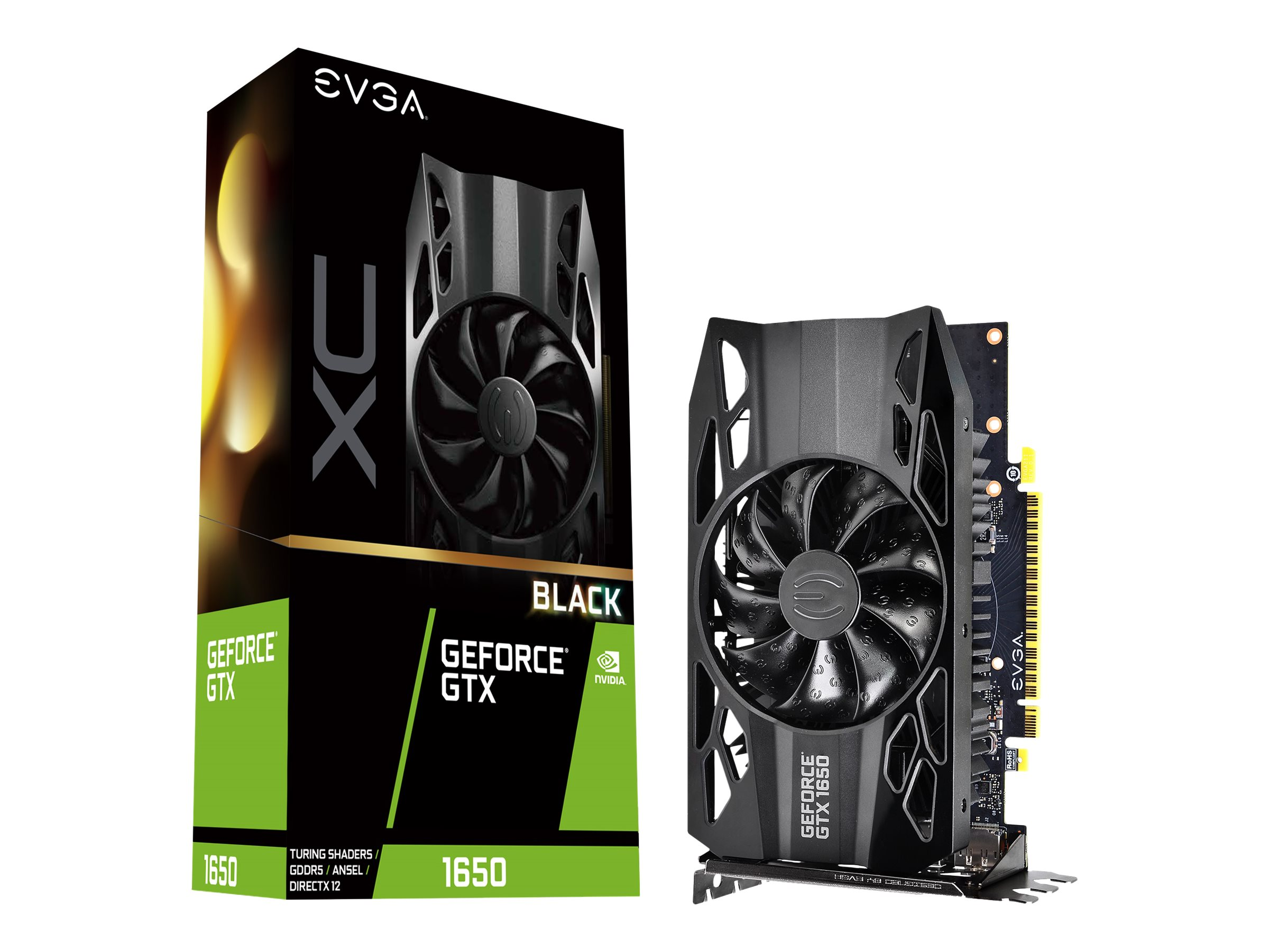 EVGA GeForce GTX 1650 XC BLACK GAMING - Grafikkarten