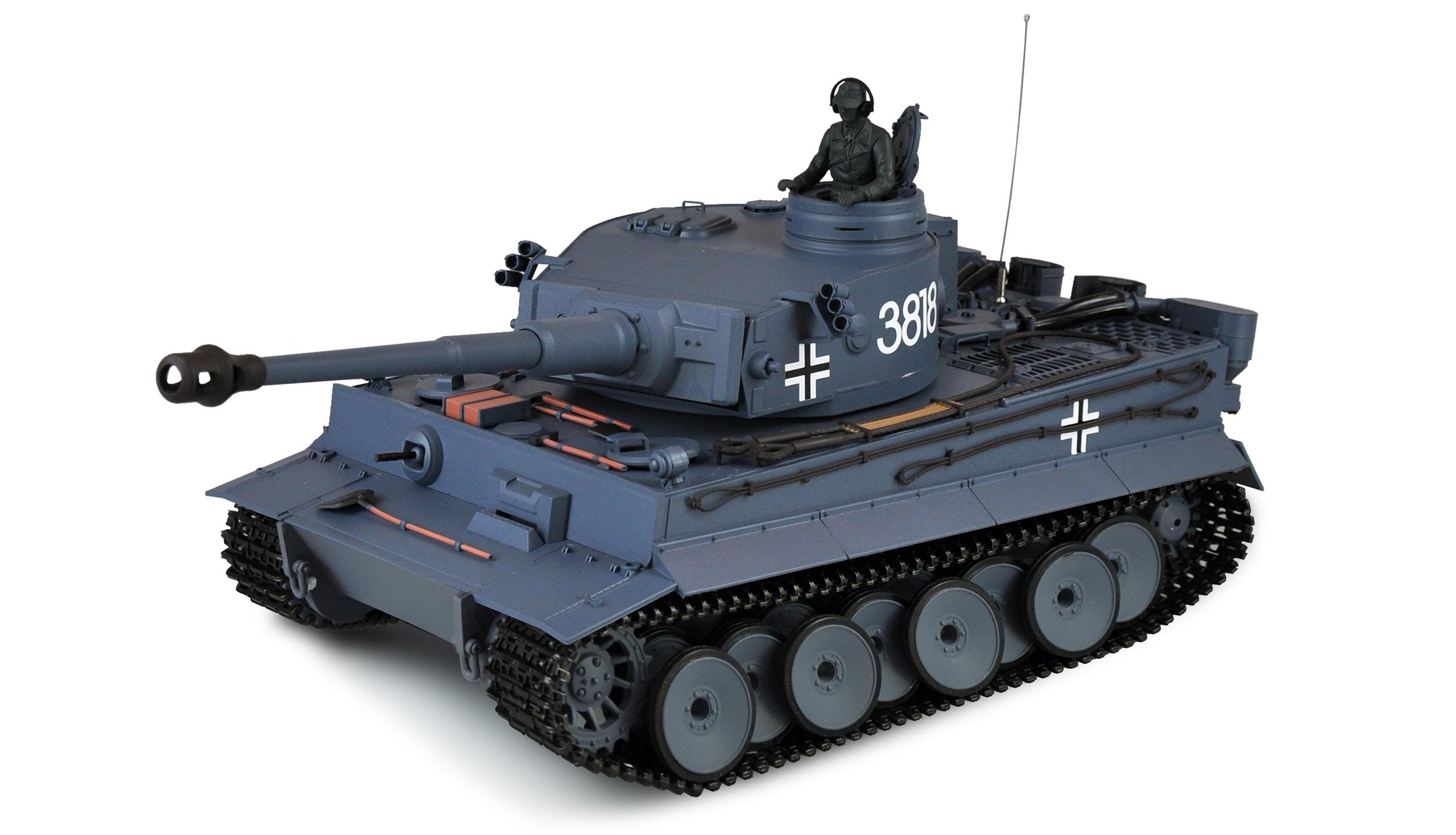 Vorschau: Amewi Tiger I - Funkgesteuerter (RC) Panzer - Elektromotor - 1:16 - Betriebsbereit (RTR) - Junge - 14 Jahr(e)